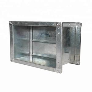 Factory Supply rectangular backdraft damper over fire air motorized volume