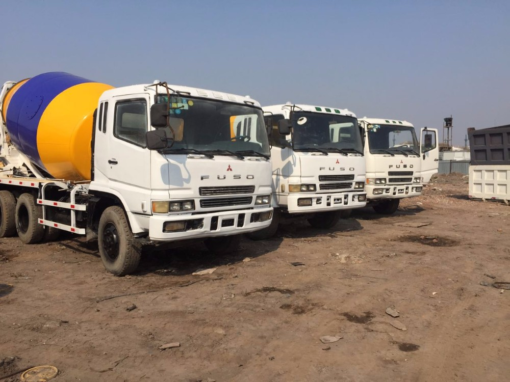 Mitsubishi Fuso Used Mixer Truck Original Import From Japan,6x4 Concrete  Machinery - Buy Used Concrete Mixer Truck,Used Mitsubishi Fuso Truck,Used