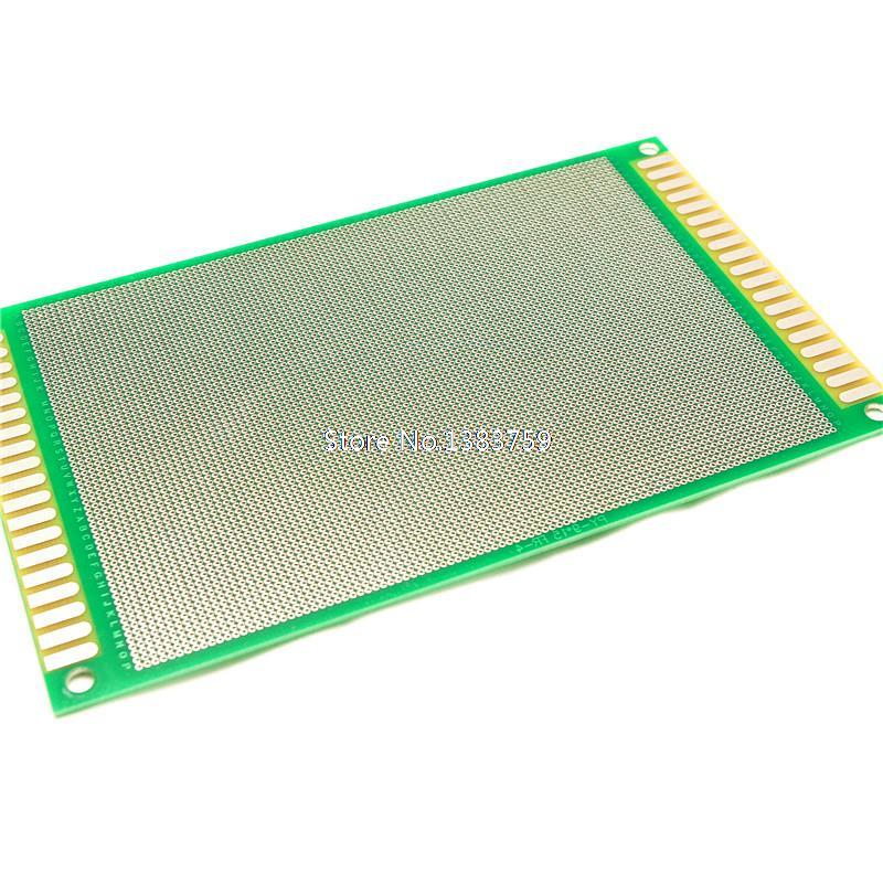 High quality 9 * 15CM1.6 thick 2.0 universal spacing sided HASL PCB board Universal