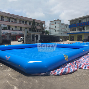 Commercial grade giant inflatable swimming pool for kids amusement