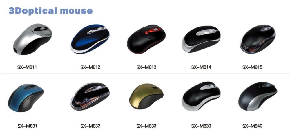 Hot selling mouse gamer gaming desktops 800DPI usb mouse with PS/USB/U+P interface option