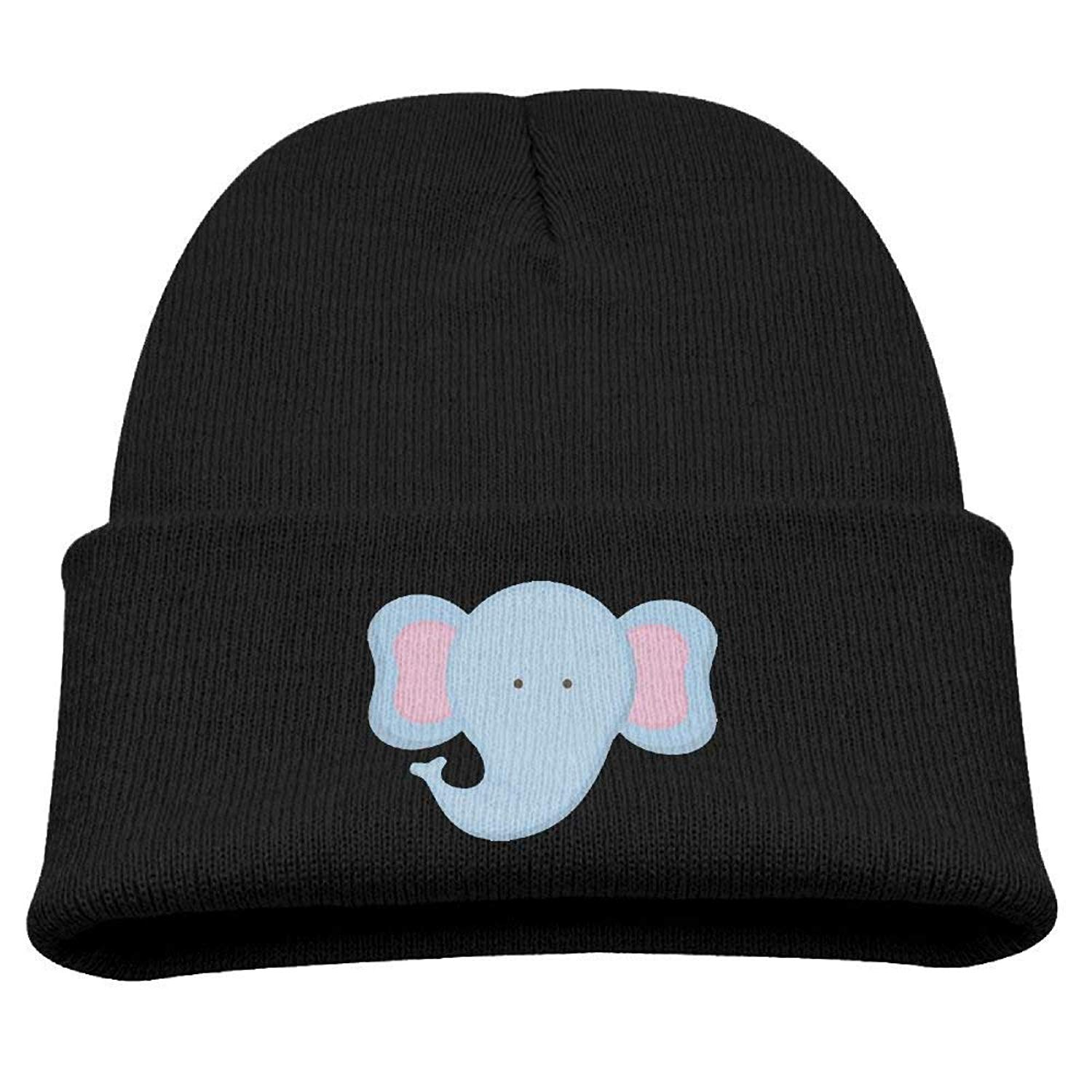 08b34be5c00 Get Quotations · Cute Elephant Kid s Hats Winter Funny Soft Knit Beanie Cap