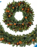 Hot Quality New Fashion Funny Christmas Decoration Christmas Wreath