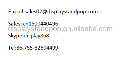 Shenzhen Lieferant hochwertige recyclebar Buch Display Rack