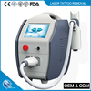 High quality q switched nd yag laser tattoo removal machine / Professional Nd Yag Laser acne Removal Equipment with CE
