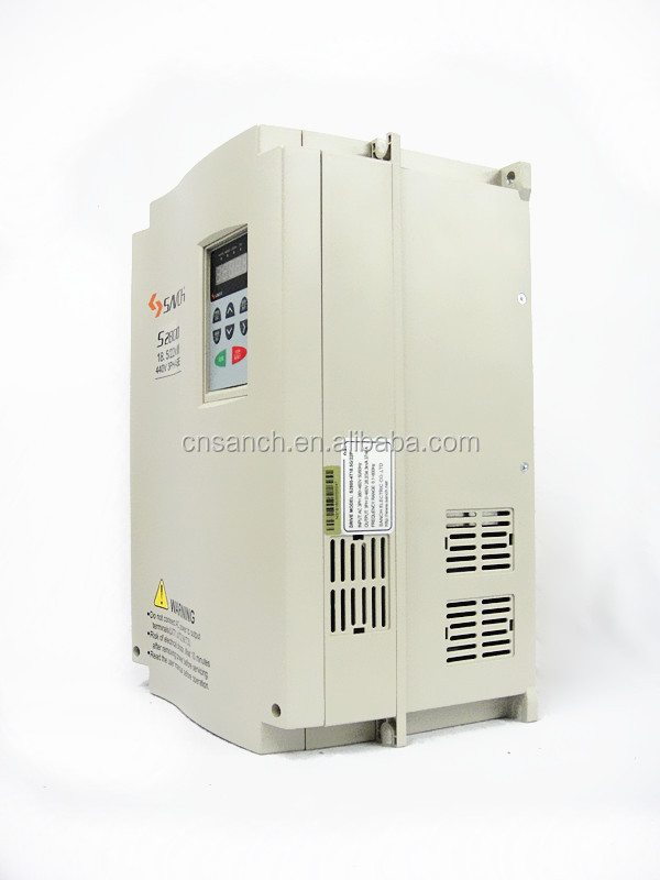 energe saver 3 phase 380v/415v/460v 18.5kw ac water pump power inverter for constant pressure water supply