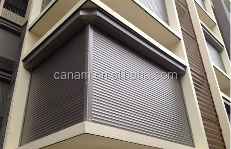 Rolling aluminium window roller shutter parts/roller shutter door accessories/accessories window shutters