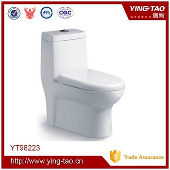 Western Parts Sanitary Ware Toilet Commode Cheap One Piece