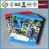 Africa market sport star 32 pages school supply exercise book