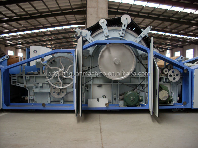 Cashmere/sheep wool combing/carding machine