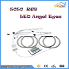 High quality 5050 RGB SMD Led Angel Eyes Halo Rings for BMW E46 AB 3 series with non projector