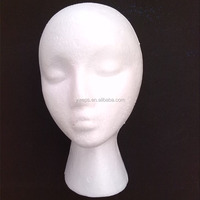 Styrofoam Head,Glasses Hat Display Model Heads Styrofoam Foam Wig Eps Mannequin