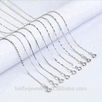 Fine Quality 925 Italian Silver Chain necklace in silver jewelry