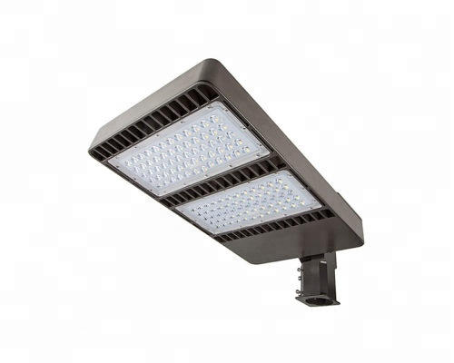 Available Stock in USA High Quality IP65 Outdoor 130LM/W High Efficacy 50W 100W 200W 300W 400W 500W LED Parking lot street Light