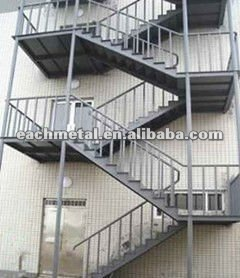 Stunning Exterior Metal Stairs Contemporary Amazing House . Spiral ...