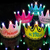 LED Crown Baby Cap Luminous Photo Props Happy Birthday Party Hat