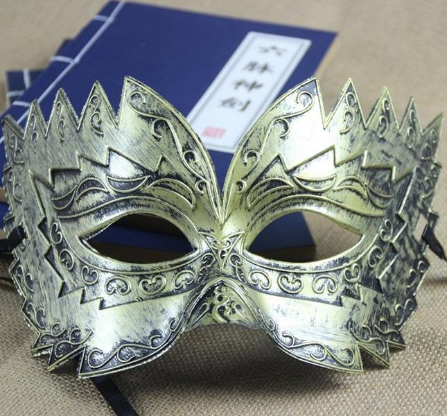 YIWU Factory Cool Warrior mask Carnival party Mask For Men and Boy