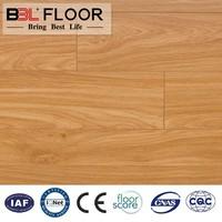Popular style V-groove handscraped 8mm laminated flooring