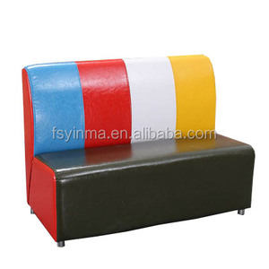 Modern wholesale Double seat restuarant round couch