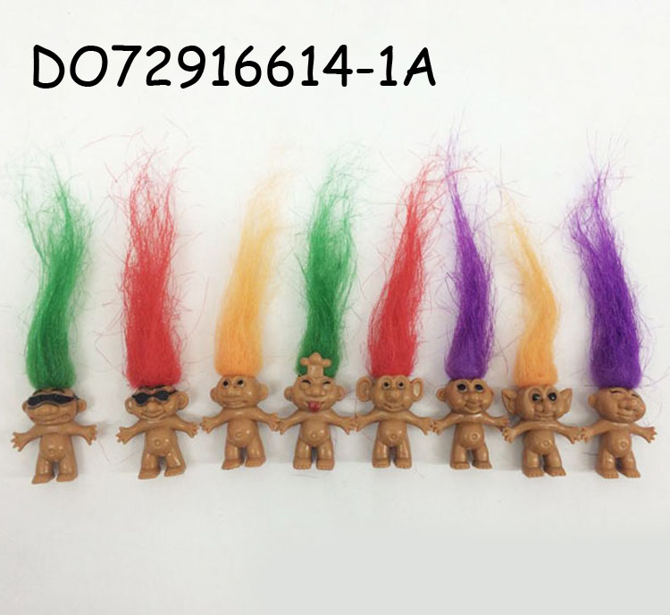 3.5CM mini capsule toys troll <strong>doll</strong> DO72916614-1A