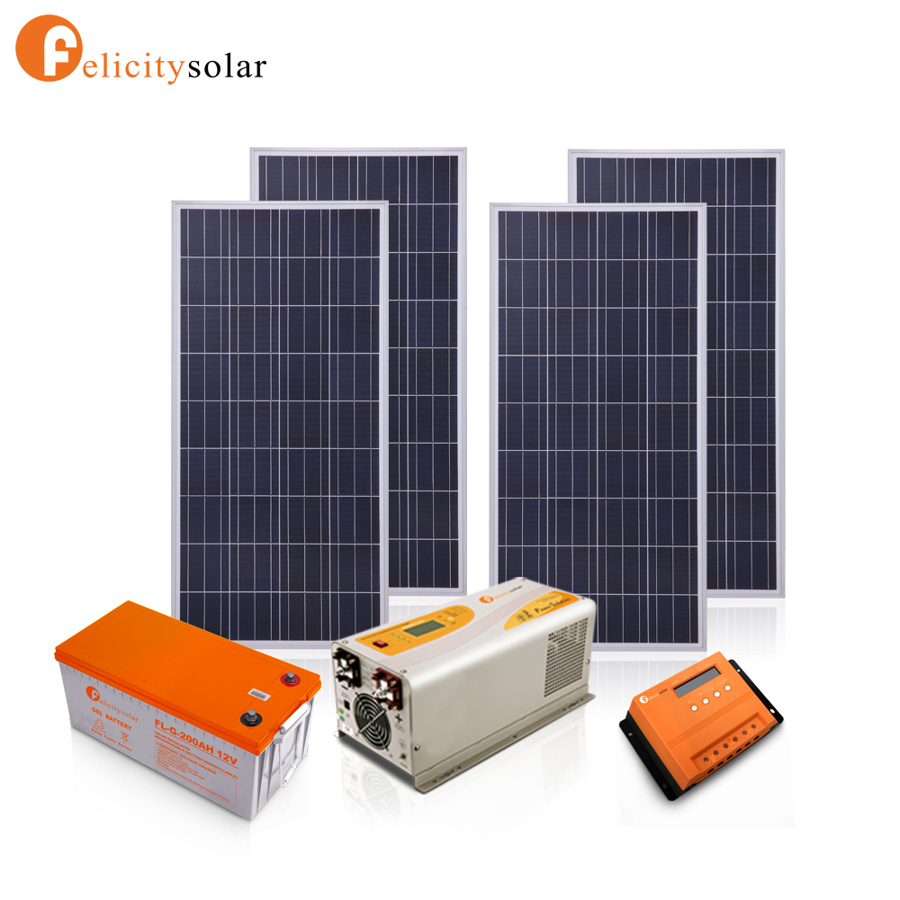 High Quality Easy Install Solar Panel System 1500w For Home Off Grid