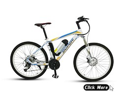 26'' magnesium alloy wheels mountain electric bicycle