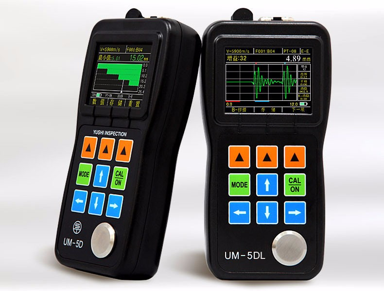 Yushi Ultrasonic Thickness Gauge Um-5 Ultrasonic Wall Thickness ...
