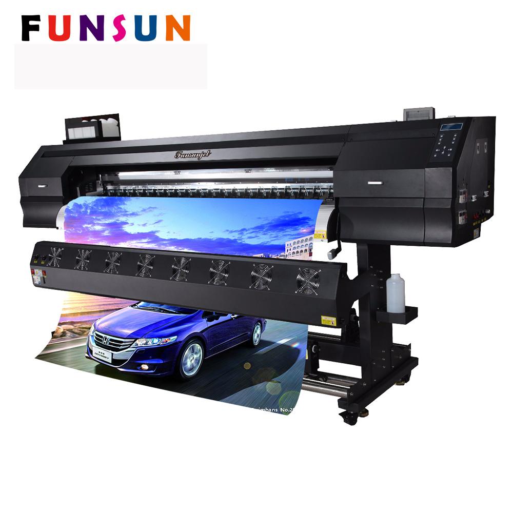Factory price funsunjet printer fs 1802k 1 8m 6ft custom sticker printing machine for car