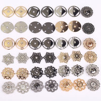 High quality new design fancy metal alloy press sewing snap buttons