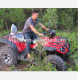 2018 New Shaft Driving Adult 3000w 60v 4X4 Mini Electric Quad Bike ATV