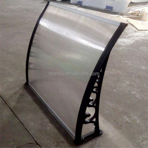 Anti-fog Polycarbonate Canopy Awning in the Philippines