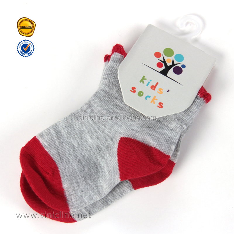 Sinicline wholesale hot sale custom kids hang tags for socks