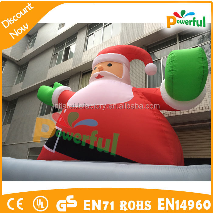 Ft advertising custom giant inflatable santa buy