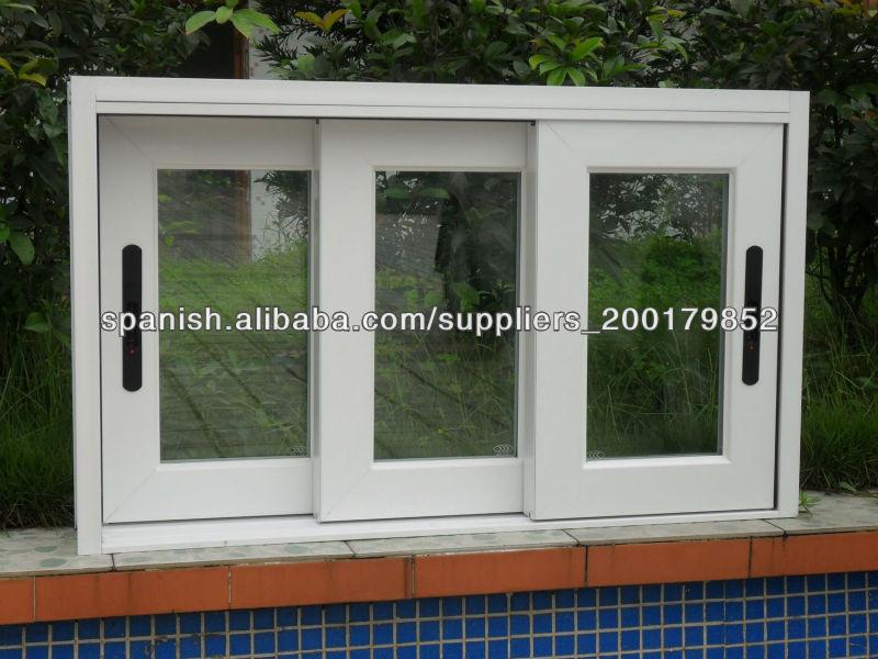 Ventana correderas de aluminio ventanas identificaci n del for Ver precios de ventanas de aluminio