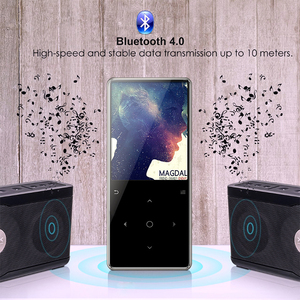 High End Metal 2.4'' Large Screen Personalized Bluetooth MP3 Player