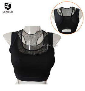Wholesale Sexy Design Fitness Wear Ladies Fashion Black Yoga Sports Bra