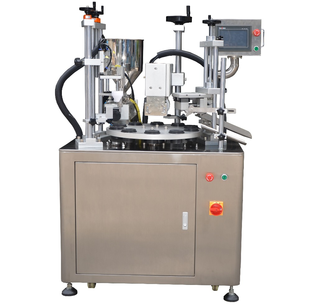 Hot Sale Tube Filling Sealing Machine Plastic Soft Tube Filling Sealing Machine