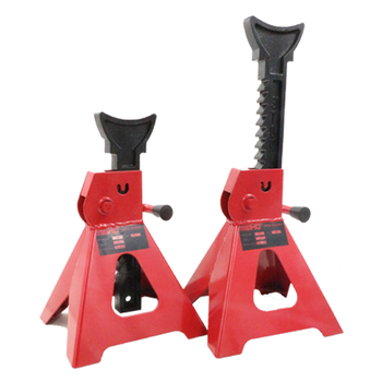 Auto supporting car repair adjustable pipe jack stands