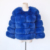 Wholesale women real fox fur coat winter warm blue fur coat fox fur coat for women
