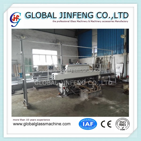 JFE-9243 9 Engines hot sale new glass straight line edging polishing machine with CE