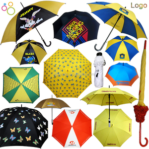 2018 customized logo artwork printing promotional umbrella