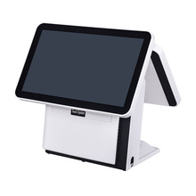 "15.6 ""POS machine/POS terminal/POS systeem met Dual-core Dual screen <span class=keywords><strong>kassa</strong></span> voor restaurant."
