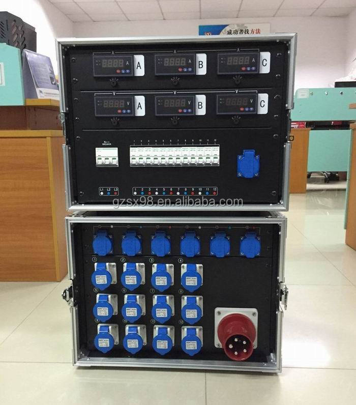380v power input electrical panel board