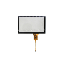 7.0 inch capacitive touch screen panel for lcd display 0.5 Pitch 10PIN