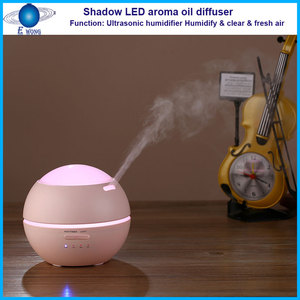 Shadow Colorful LED Aroma Diffuser wholesale new novelty personal plastic led light gx aroma diffuser