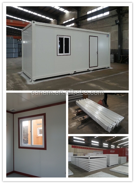 Low Cost Removable Flat Pack Portable Mobile Container House