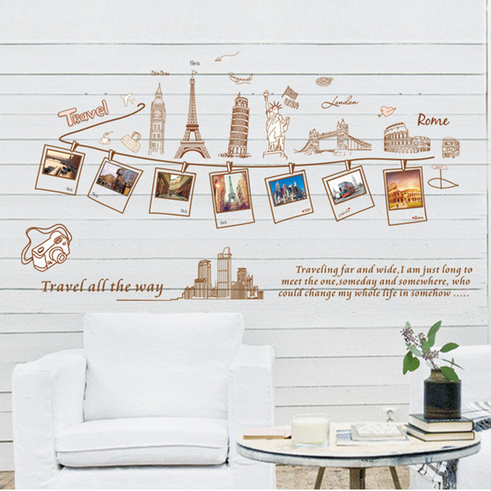 Welcome To Our Home & DIY Removable Vinyl Decal Home Decor Warm Wall Sticker papel de parede sala Smile