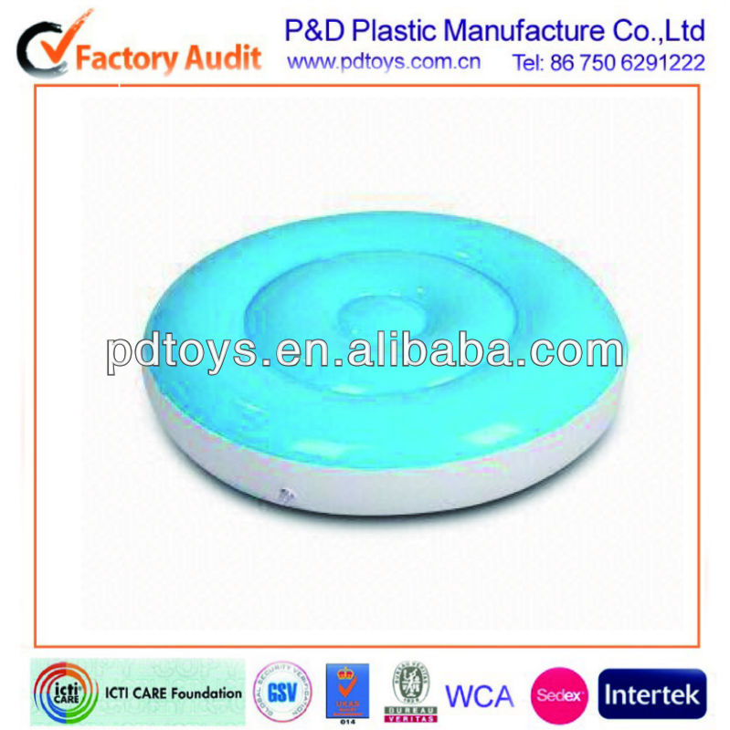 Blue color 6p Free PVC Inflatable water Cushion