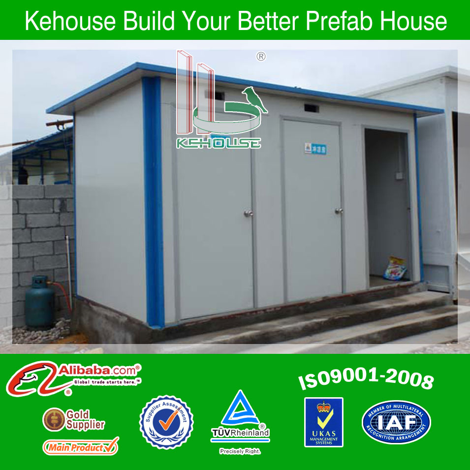 EPS panel prefabricated dorm container for bathroom container