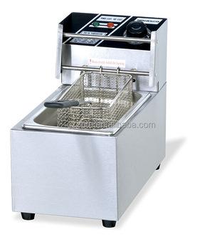 Commercial Kitchen Counter Top Electric 1 Tank Fryer 1 Basket Ot-81 ...